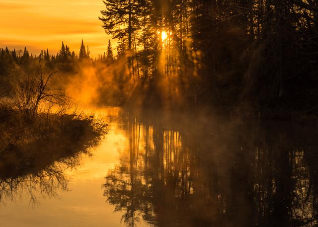 Moosre River Sunrise Mist Photography Art   Kurt Gardner Photogarphy Gallery