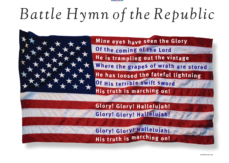 Battle Hymn of the Republic Poster