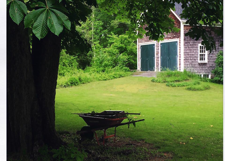 Sea of Green, the Barn