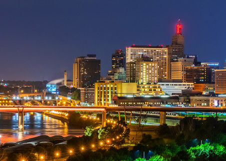 St. Paul on the River 2 - Urban Cityscapes | William Drew