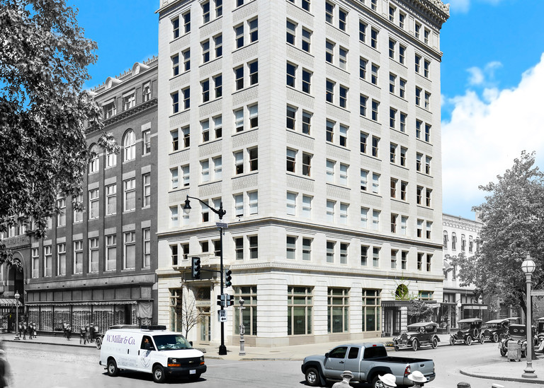 Mc Lachen Banking Corp., 10th And G Sts. N.W.  Art | Mark Hersch Photography