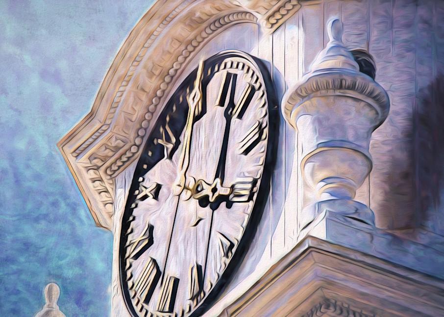 The Clock Tower Photography Art   Peter J Schnabel Photography LLC