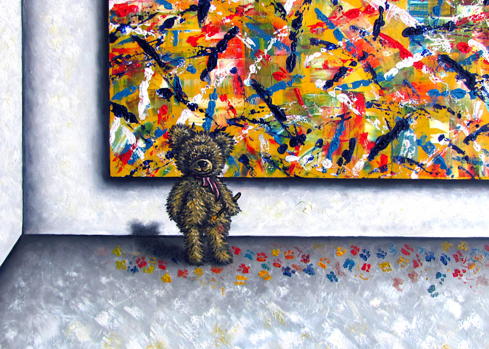 The Little Bear And His Masterpiece  Art   PMS Artwork