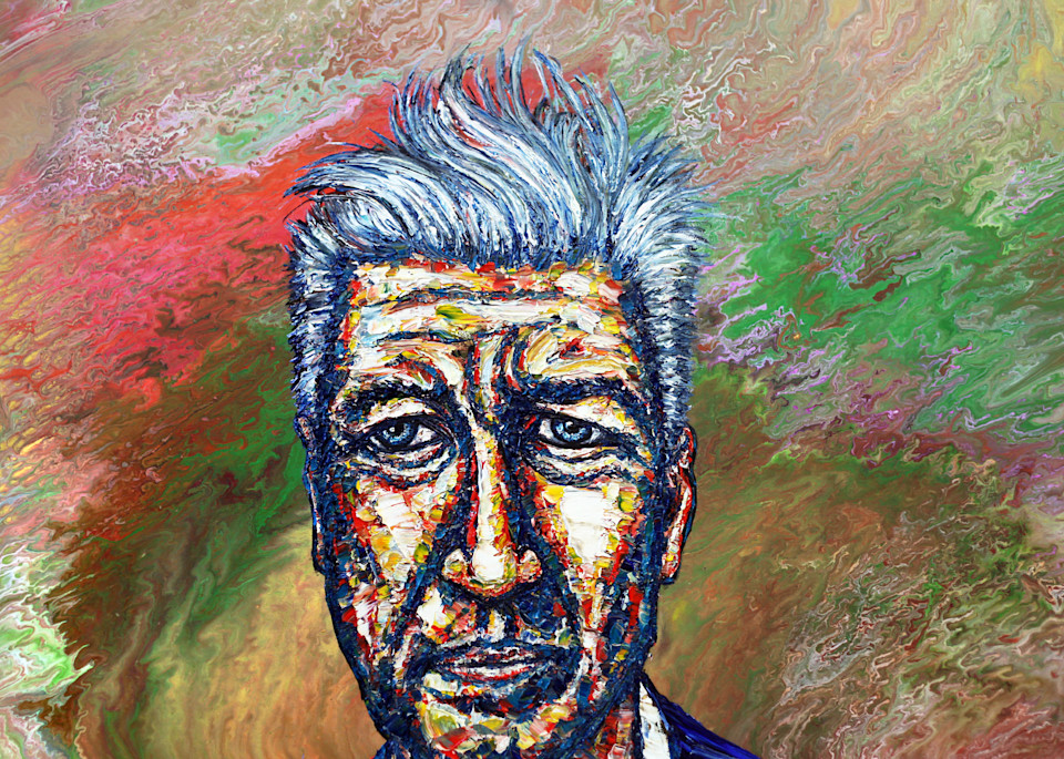 David Lynch, Transcendental Man Art   PMS Artwork