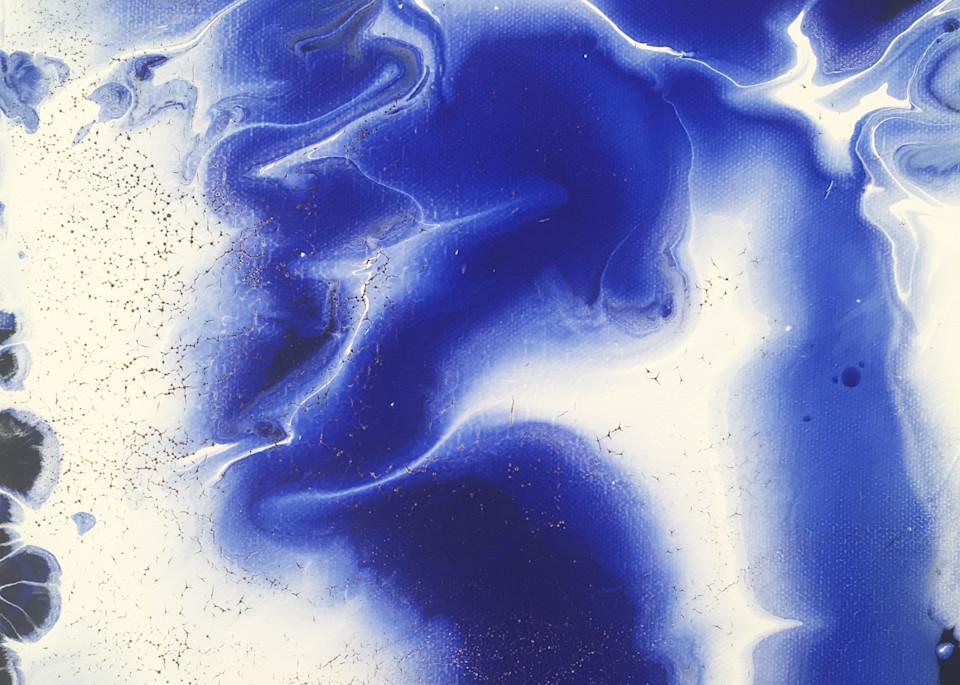Electric Blue Art | PMS Artwork