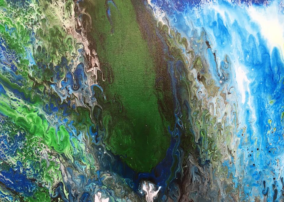 Under Waterfall Art | PMS Artwork