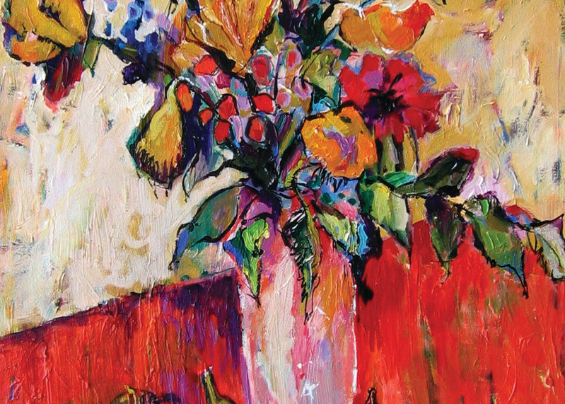 Spirited Figs by Carole Watanabe