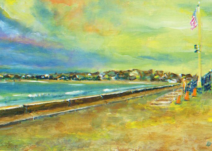 First Beach #B Art Print