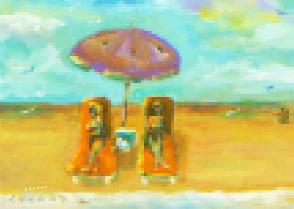 Horseneck Beach #4 Pixel Print