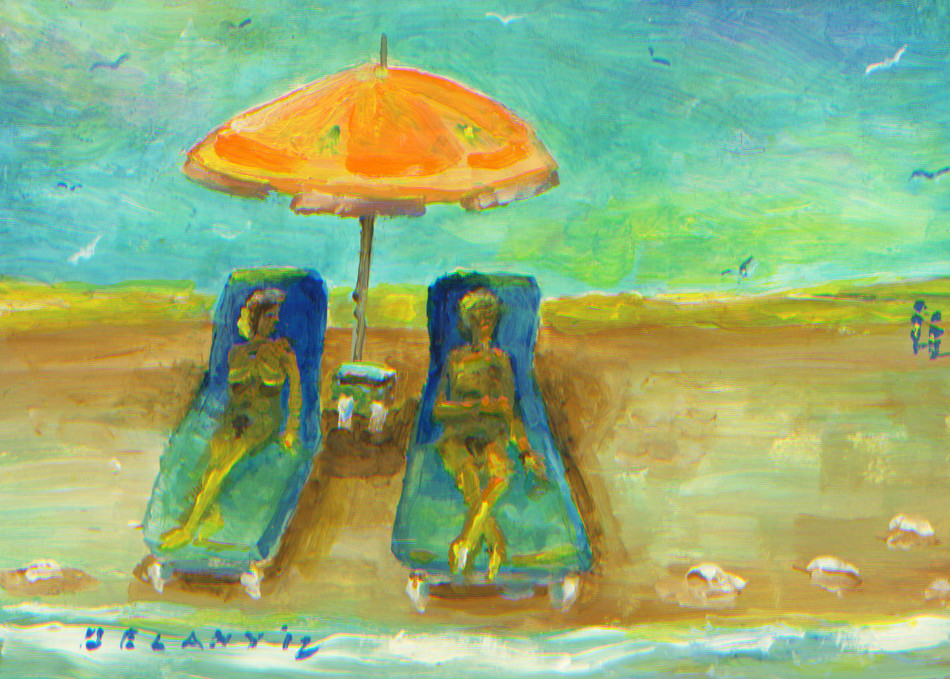 Horseneck Beach #1 Art Print