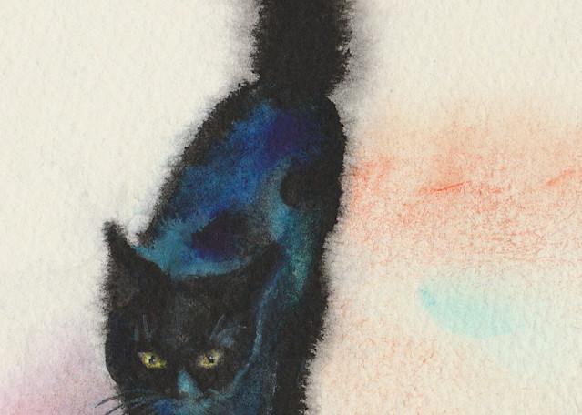 Black Cat Strolling #2