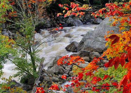 Autumn On The Ausable Art | Michael Sandy Photography