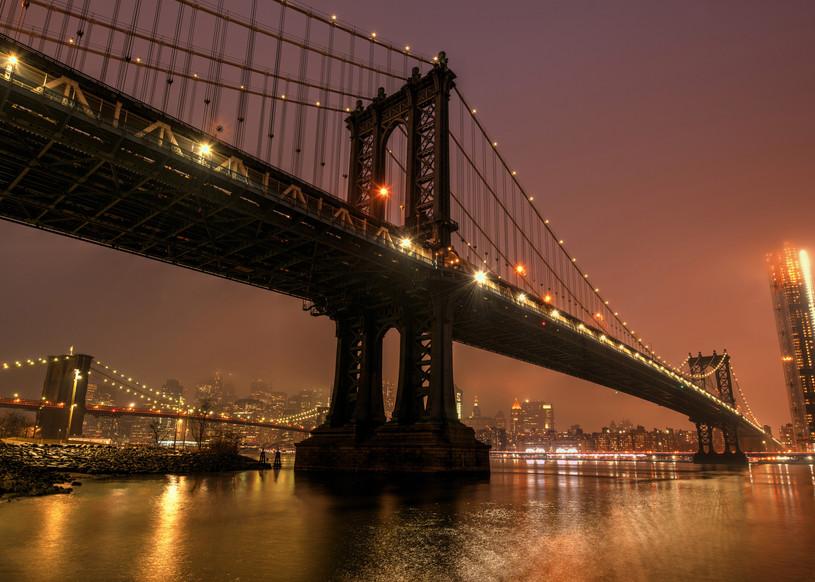 Manhattan Bridge Art | Michael Sandy Photography