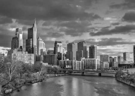 Philadelphia Skyline Photography Art | Michael Sandy Photography
