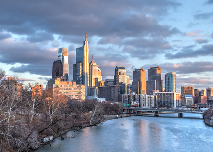 Philadelphia Skyline Art | Michael Sandy Photography