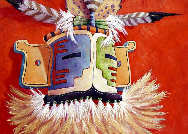 Hopi Ceremonial Mask