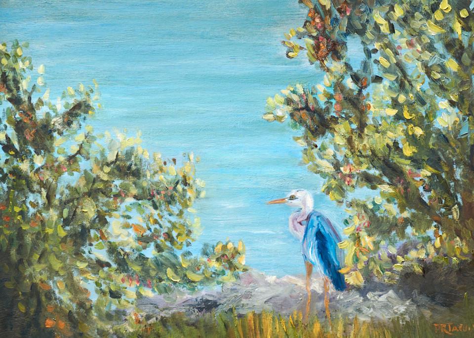 Waiting For Lunch Again Art | Pamela Ramey Tatum Fine Art
