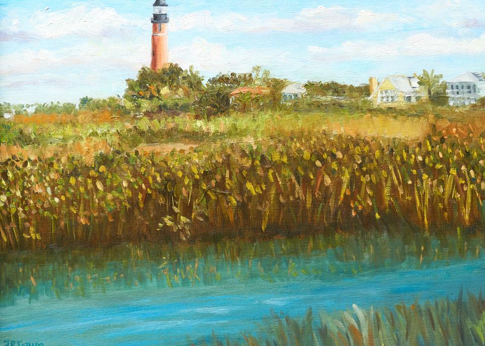 Ponce Inlet Lighthouse Art | Pamela Ramey Tatum Fine Art
