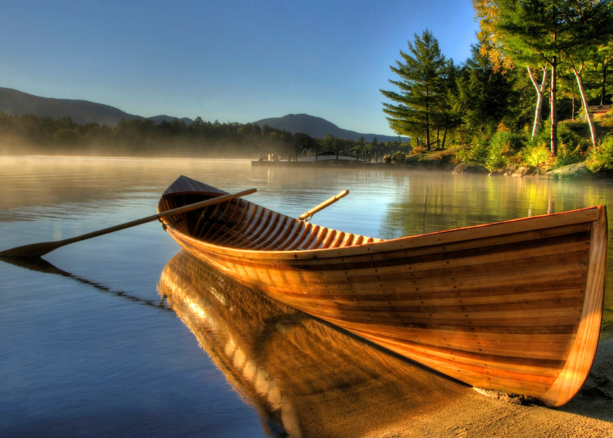 Adirondack Guideboat Art | Michael Sandy Photography