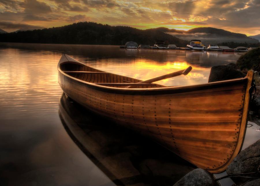 October Sunrise On Lake Placid Art | Michael Sandy Photography