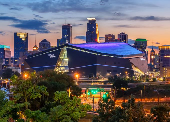 Dusk and the City 2 - Minneapolis Skyline Photo | William Drew