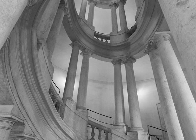 Barromini Staircase, Palazzo Barberini Art | Michael Sandy Photography