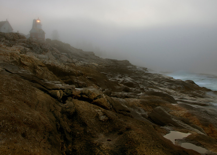 First Light On Pemaquid Photography Art | Michael Sandy Photography
