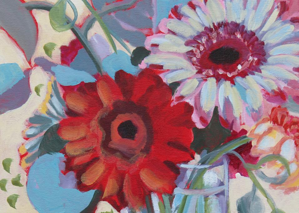 Gerber Daisys Art | Kristin Webster Art Studio