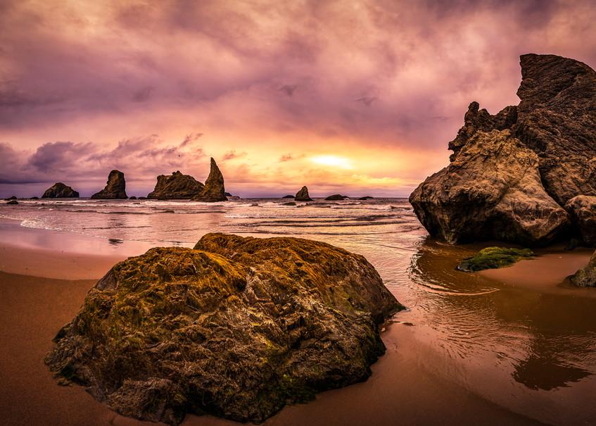 Bandon Beach Pano Photography Art | Derrick Snider Imagery