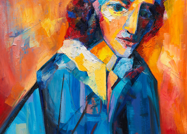 Portrait Of The Artist As A Young Woman Art | Sonnets in colour