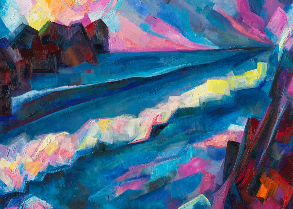 Sonnet 56: Let This Sad Interim Like Ocean Be Art | Sonnets in colour