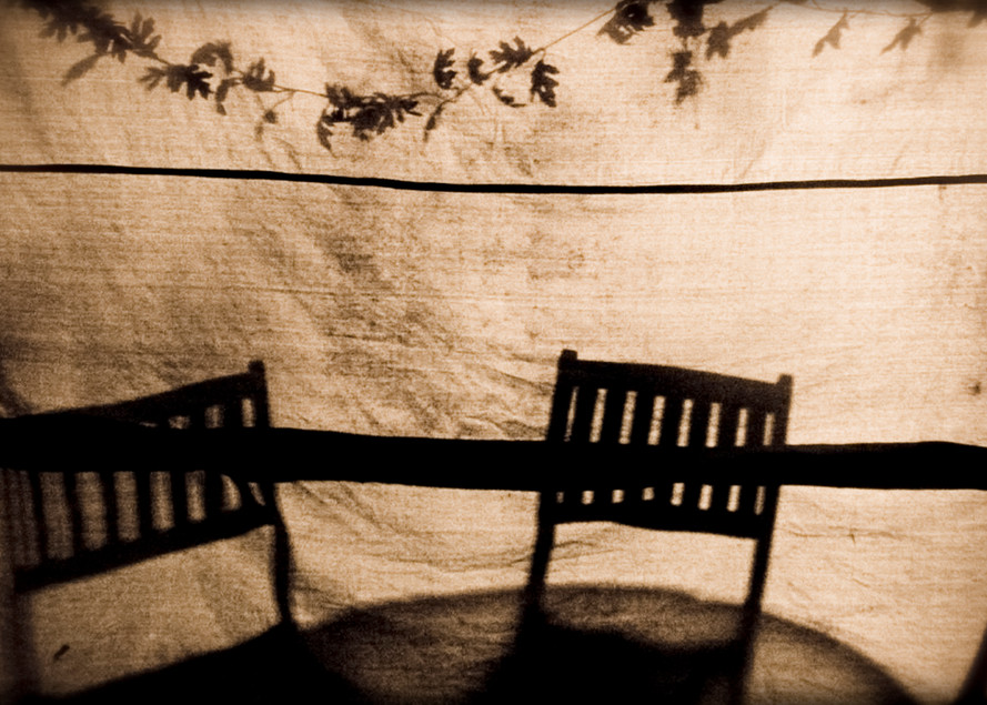 Shadow Chairs Photography Art | David Frank Photography