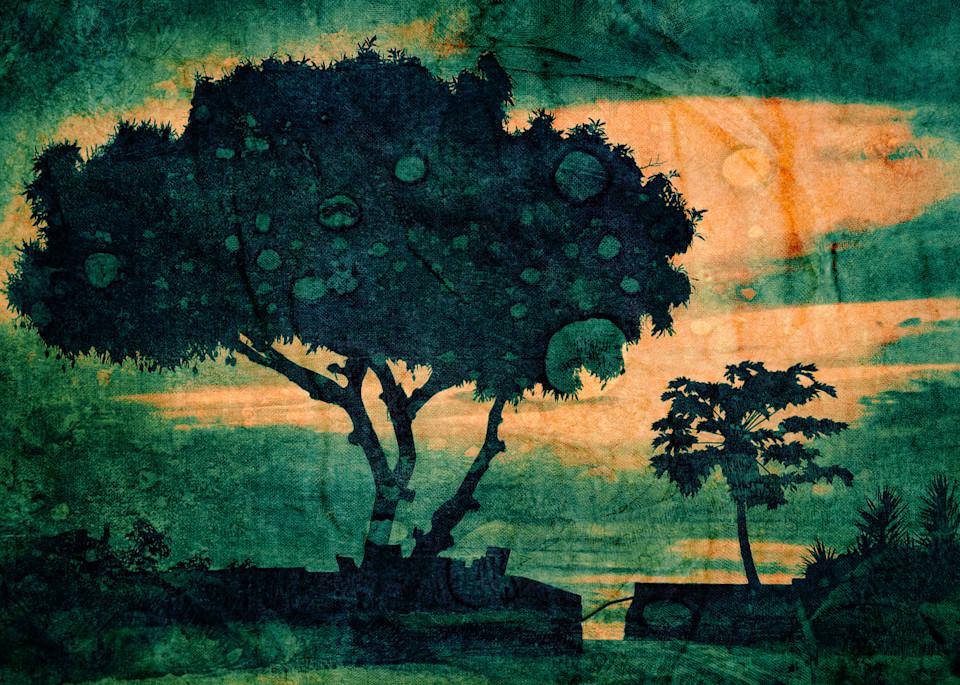 Geoscape Tropic Delight Art   FortMort Fine Art