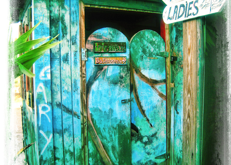 Fine Art Photog Tropical Outhouse Art | FortMort Fine Art