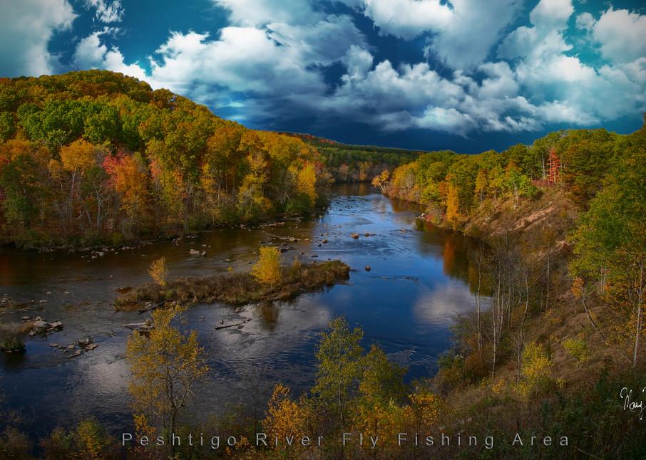 Fine Art Photog Peshtigo River Fly Fishing Art | FortMort Fine Art