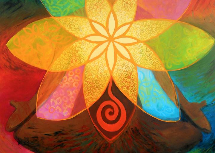 Flowering Heart, by Jenny Hahn