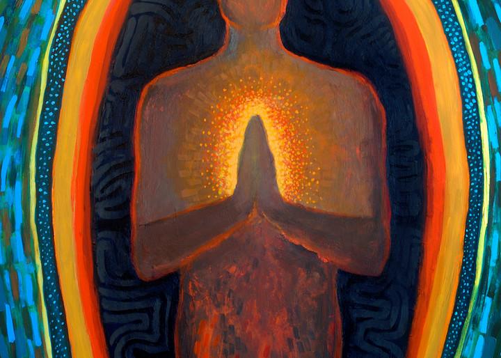 Namasté, by Jenny Hahn