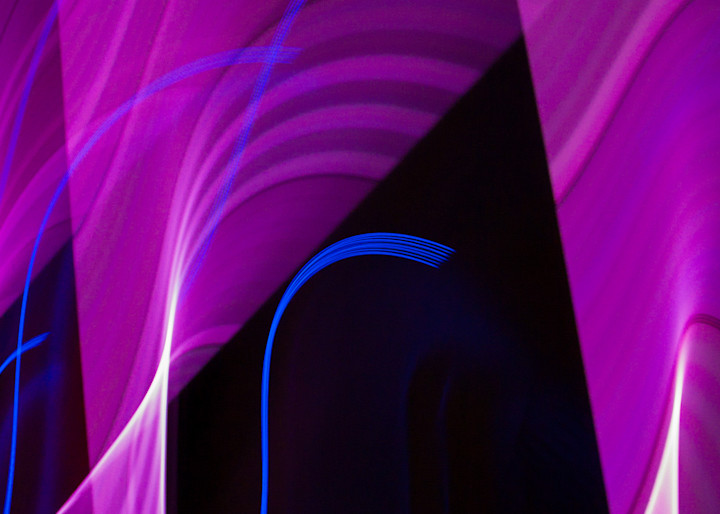 Camera Toss Blue And Purple III | Online Art Photography Store