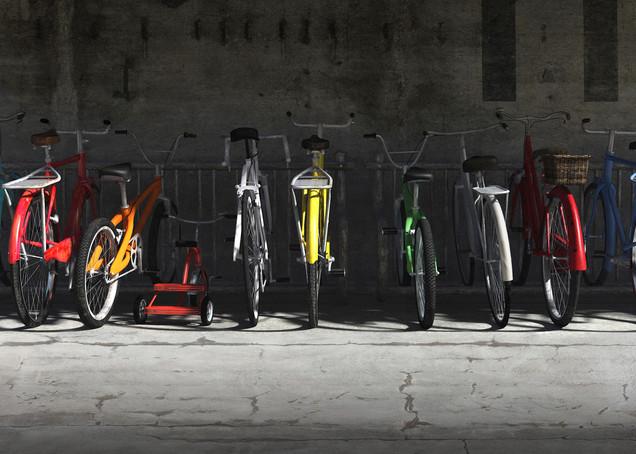 Bike Rack | Cynthia Decker