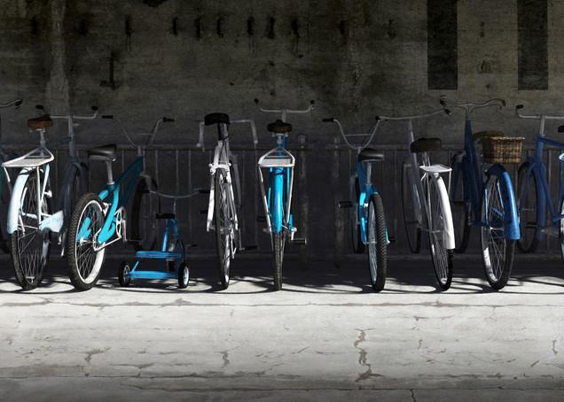 Bike Rack Blues | Cynthia Decker