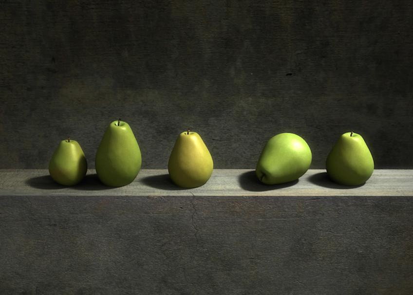 Five Pears | Cynthia Decker