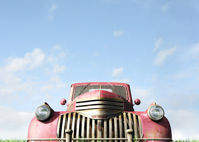 Red Truck | Cynthia Decker