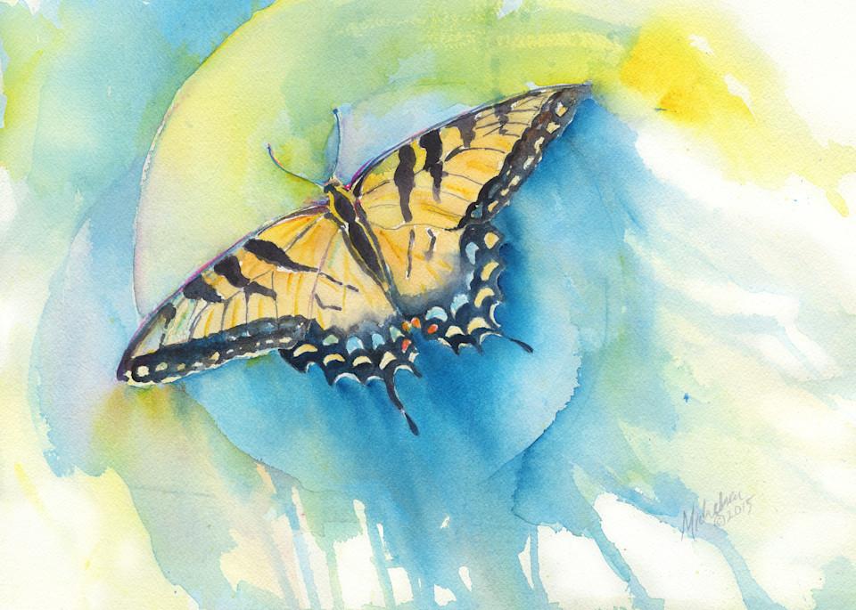 Tiger Swallowtail Art   Bright Spirit Studio