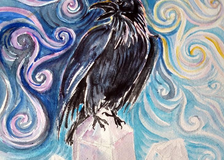 Raven Magic Art | Bright Spirit Studio