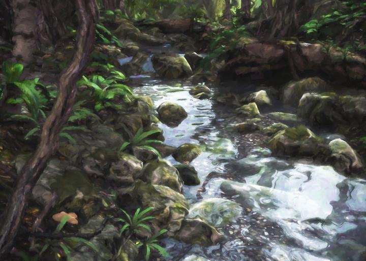 Woodland Stream | Cynthia Decker