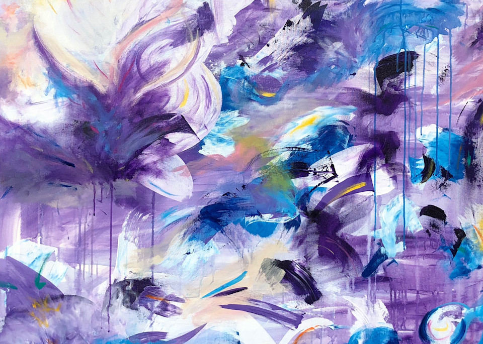 Floating Lotus Art | Stephanie Wray Arts