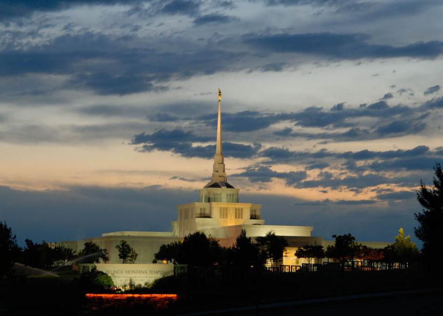 Billings Temple - Dusk Calm