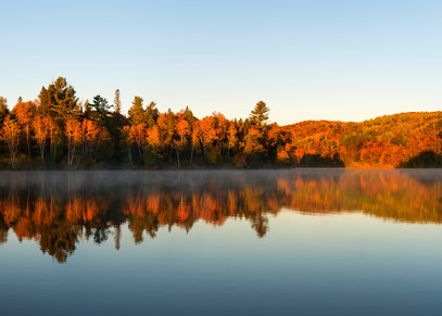 Autumn Sunrise in Jay Cooke State Park, MN