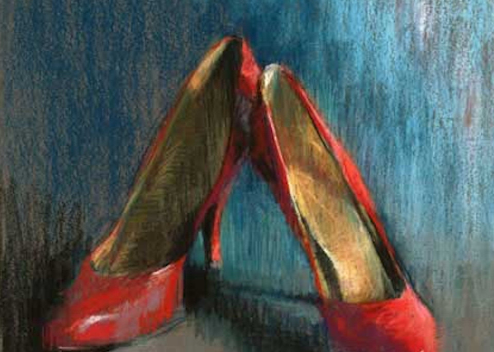 Available Now Only As A Print   Red Shoes 7 Art | Bkern Fine Art