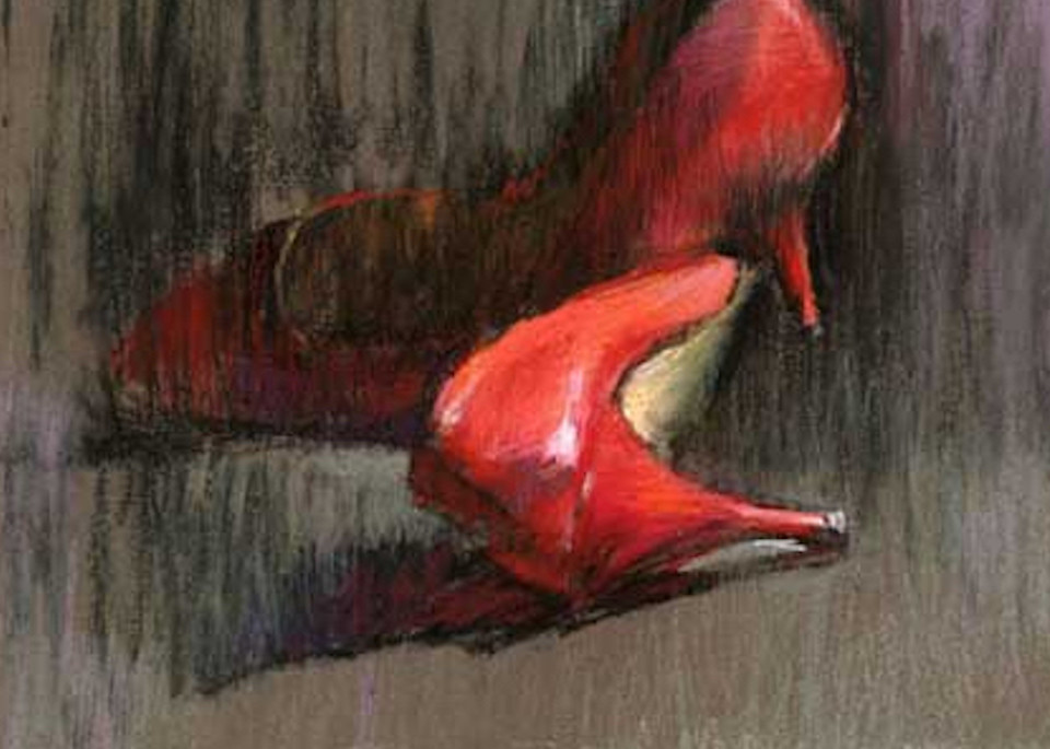 Red Shoes 6 Art | Bkern Fine Art